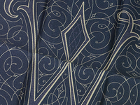 Wang Monogram Handkerchief