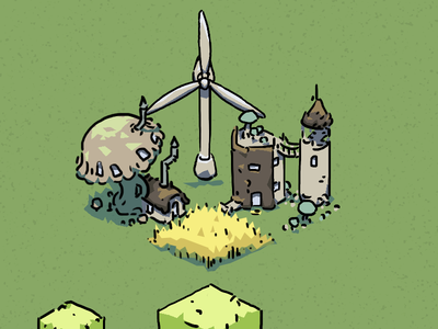 Wheat, weird houses and wind energy