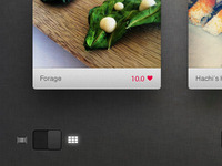 Foodie App - Grid View