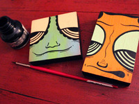 Two Mini Paintings