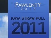 Iowa Straw Poll 2011 - Tim Pawlenty