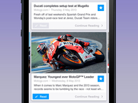 MotoGP News for iOS