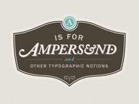 A Is For Ampersand Redux v2