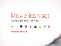The Movie Icon Set. Download for free.