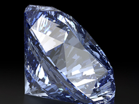Blue Vector Diamond