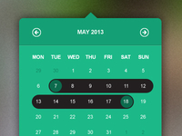 Pop Up Calendar - Date Picker