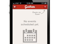 Gather iPhone App