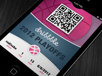 iOS 6 Dribbble Passcard