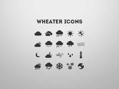 Download Weather Icons