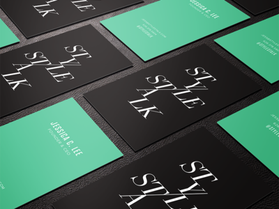 STYLE/STALK business cards