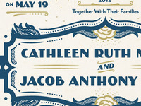 Cathleen and Jacobs Invites