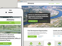 New Almono site