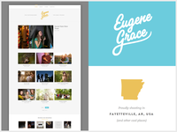 Eugene Grace New Website