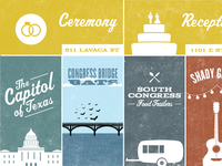 Austin Visitor's Guide Illustrations
