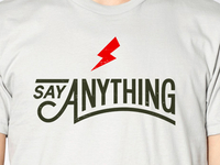 Say Anything Shirt
