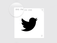 SVG icons on Iconfinder
