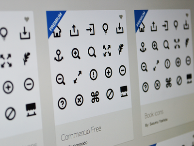 Labels for premium icon sets