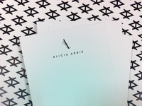 Alicia Akrie Note Card