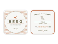 Berg Photography Business Card