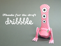 Dribbble Monster