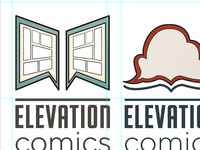 Elevation Comics Logo WIP