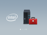 Intel Icons : Pedestal Server