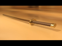 3D Animated Sword