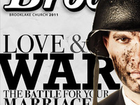 Love & War - Faux Magazine Cover