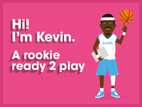 Kevin Tresor the dribbble rookie