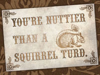 Squirrel Turds