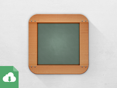 Download Chalkboard (not) Flat