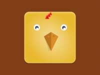 Chick Icon   Dribbble