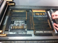 Type on the Press