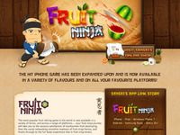 Fruit Ninja Website Refresh