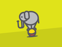 Unused Elephant Icon