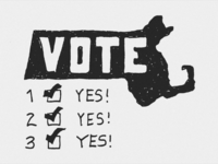 Massachusetts: VOTE!