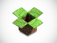 Dropbox Minecraft Icon