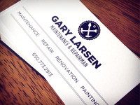 Dad's Business Cards