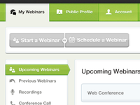 Webinars - Account Manager