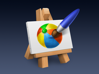 An icon for a painting app