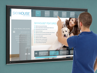 Touchscreen interface