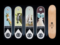 Lumadessa Nature decks from Element Skateboards