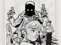 The Black Hood: Inks 2