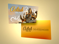 Shiva Tattoo contact card