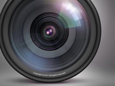 video camera lens Camera-lens Video Camera Lens Reflection
