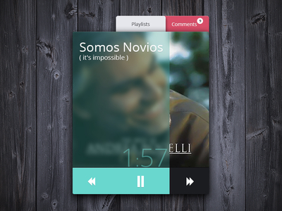 Music Player Widget