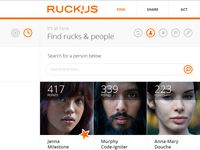 Ruckus - Find page (people)