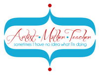 Logo for ArtistMotherTeacher.com