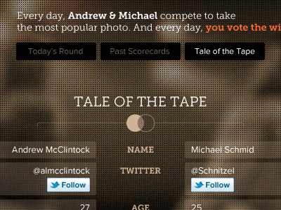 Tale-of-the-tape