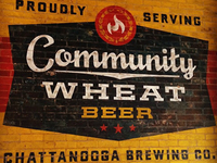 Community Wheat Beer mural